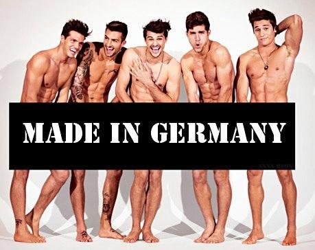 Guys hot german 10 Hottest