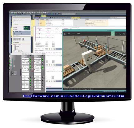 Ladder Logic Simulator Factory Simulation Game Future