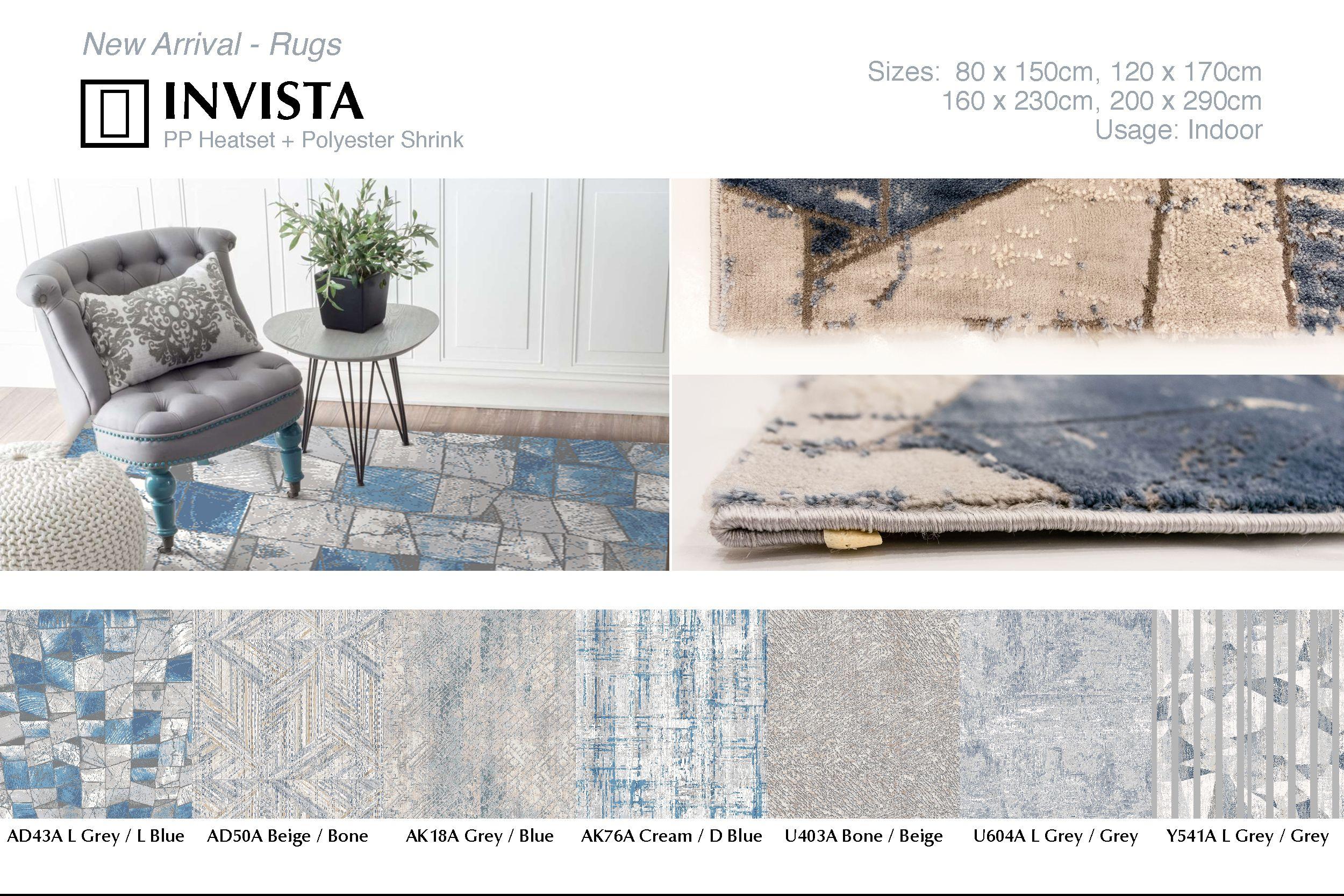 Invista Large carpet, Indoor, Vinyl flooring