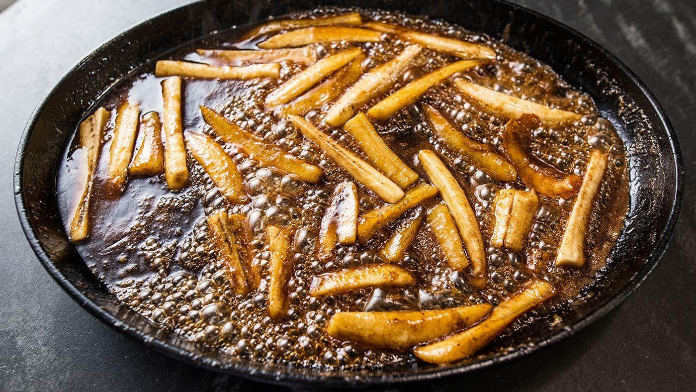 John Besh S Bananas Foster Recipe Classic Dessert Recipe Banana Foster Recipe John Besh Recipes