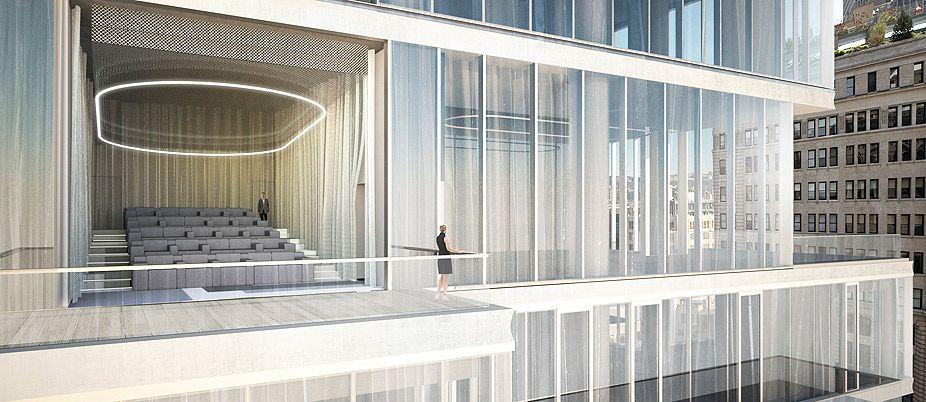 56 LEONARD Luxury Tribeca Apartments And Penthouses NYC Herzog U0026 De Meuron  Have Designed An Iconic