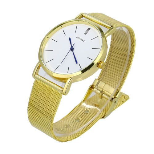 Fashion #casual women's #bracelet quartz #stainless steel analog gold wrist watch,  View more on the LINK: 	http://www.zeppy.io/product/gb/2/371799999996/