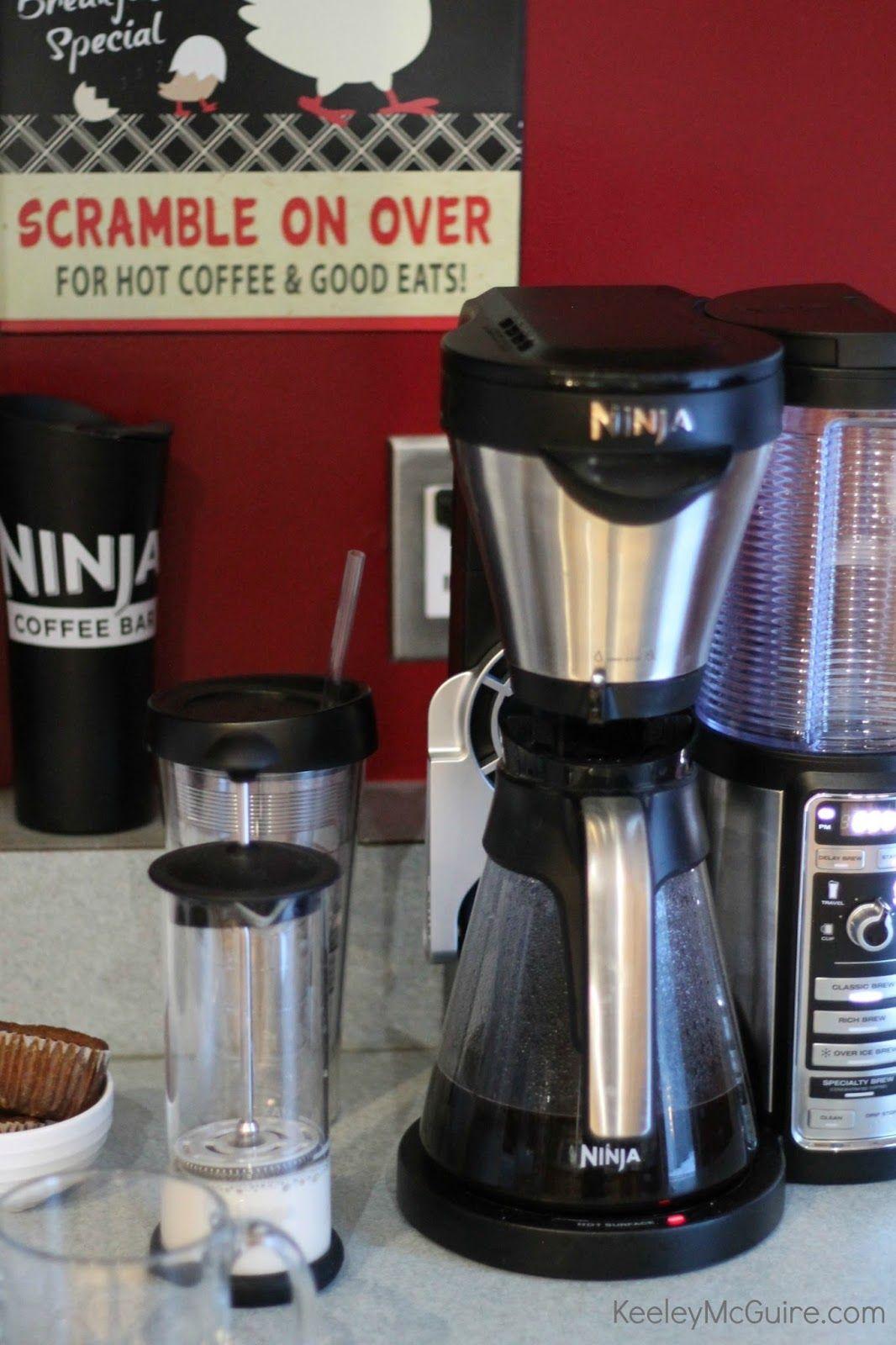 Gluten free allergy friendly ninja coffee bar at home