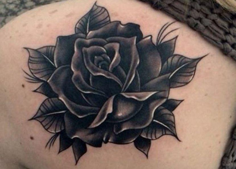 Tatuajes De Rosas Negras Tatuajes De Rosas Tatuaje Rosa Negra Rosas Negras