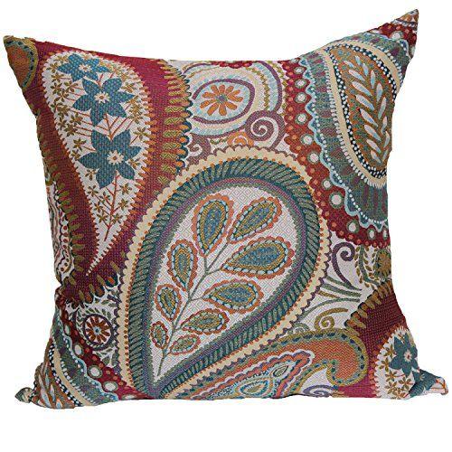 Brentwood Originals 40 Succulent 40 Inch Decorative Pillow Blossom Beauteous M Kennedy Home Grand Paisley Decorative Pillow