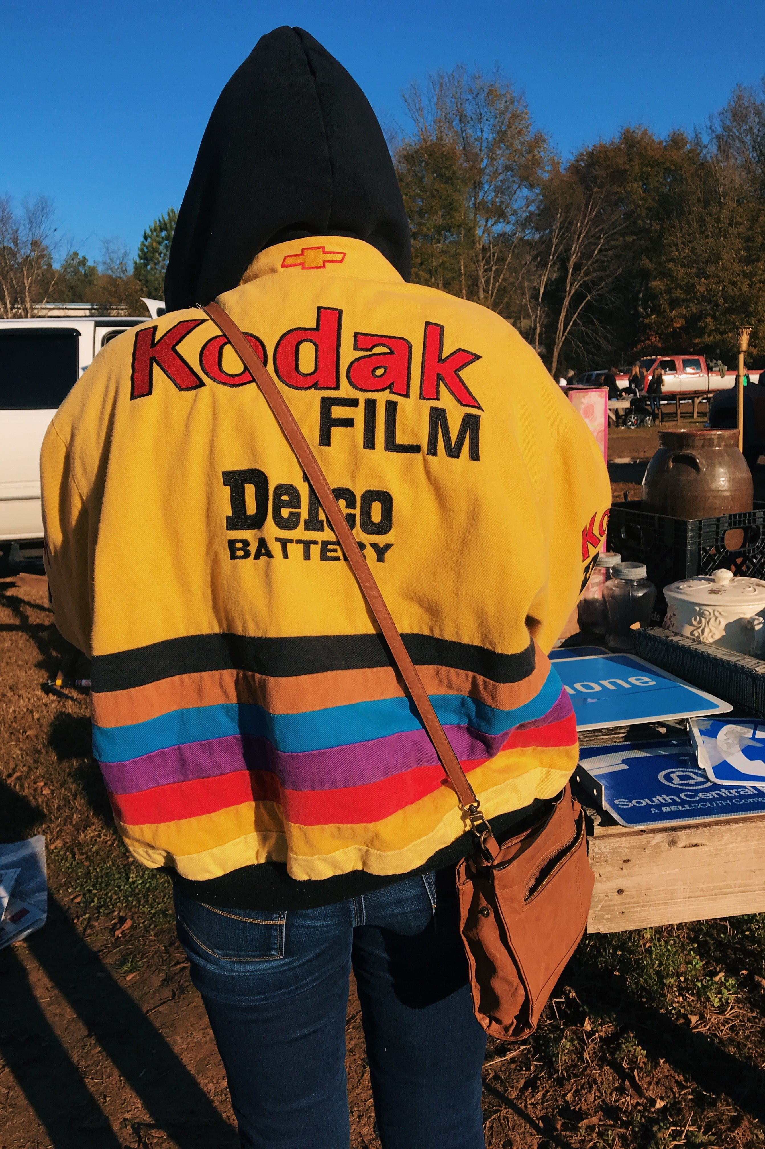 2c1c6b918 vintage kodak film nascar racing jacket | style in 2019 | Fashion ...