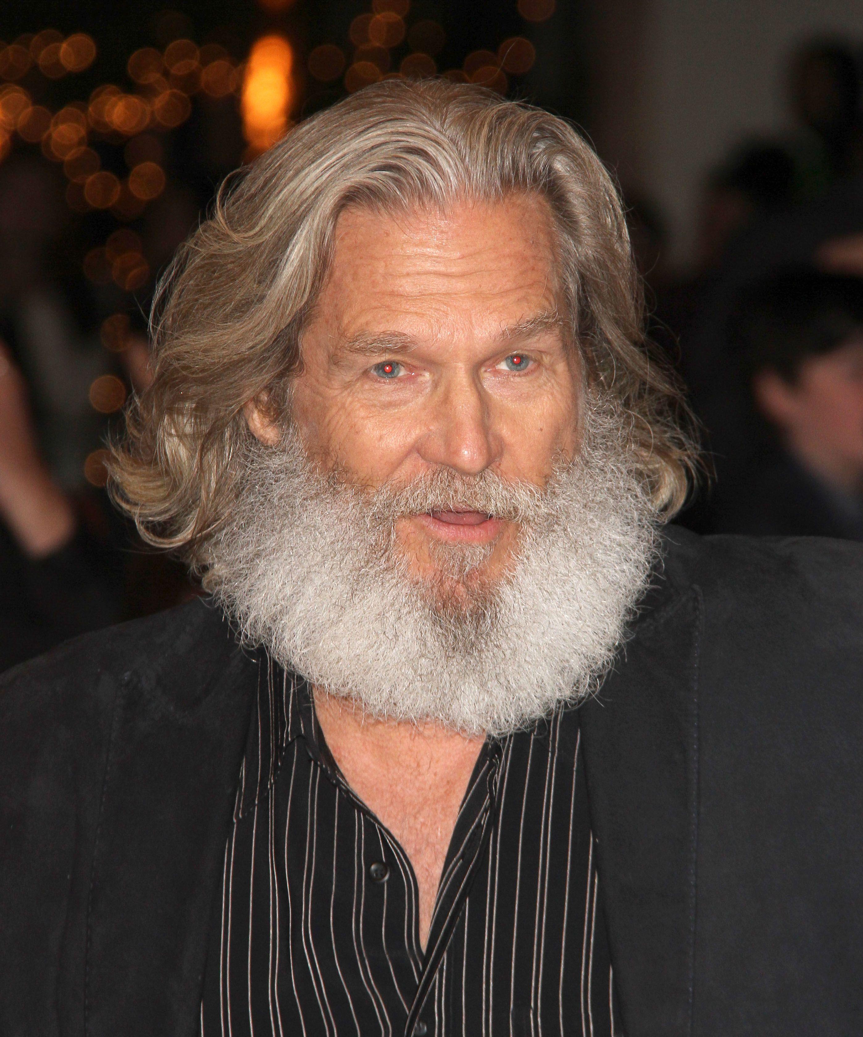 Jeff Bridges' fantastic hair & beard! Oh boy!!!! | Beard ...
