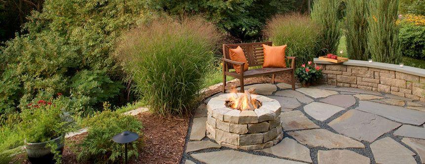 Southview Design Landscaping Contractor Minneapolis St Paul Twin Cities Minnesota Backyard Landscape Contractor Cement Patio