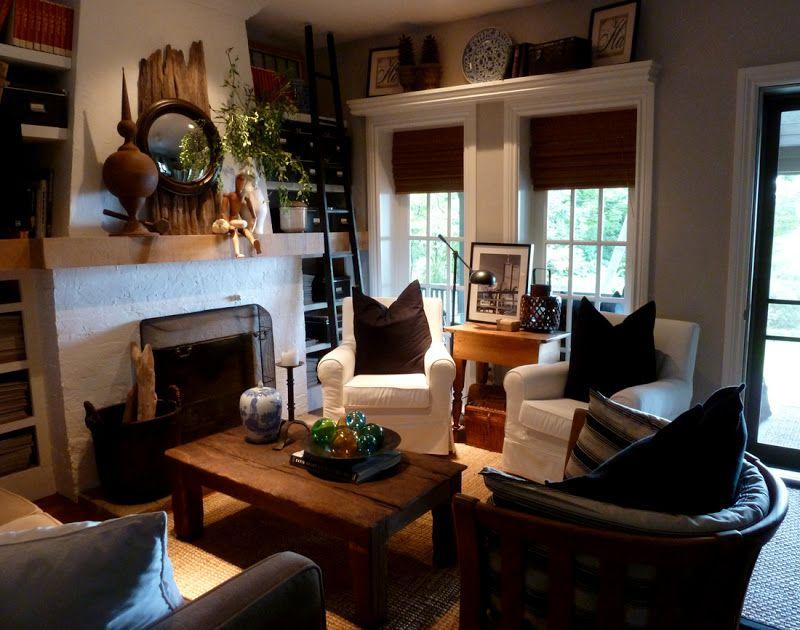 The Vintage Cabin Brookside House Tour Living room love