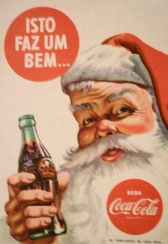 A cruzada mundial contra o consumo de refrigerantes, principalmente por crianças, provavelmente faria com que esse anúncio antigo da Coca-Cola fosse alvo de muitas críticas hoje em dia.