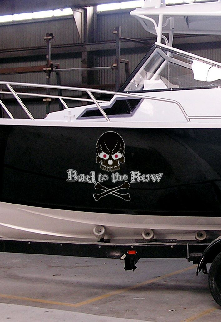 Awesome Tough Looking Boat Name