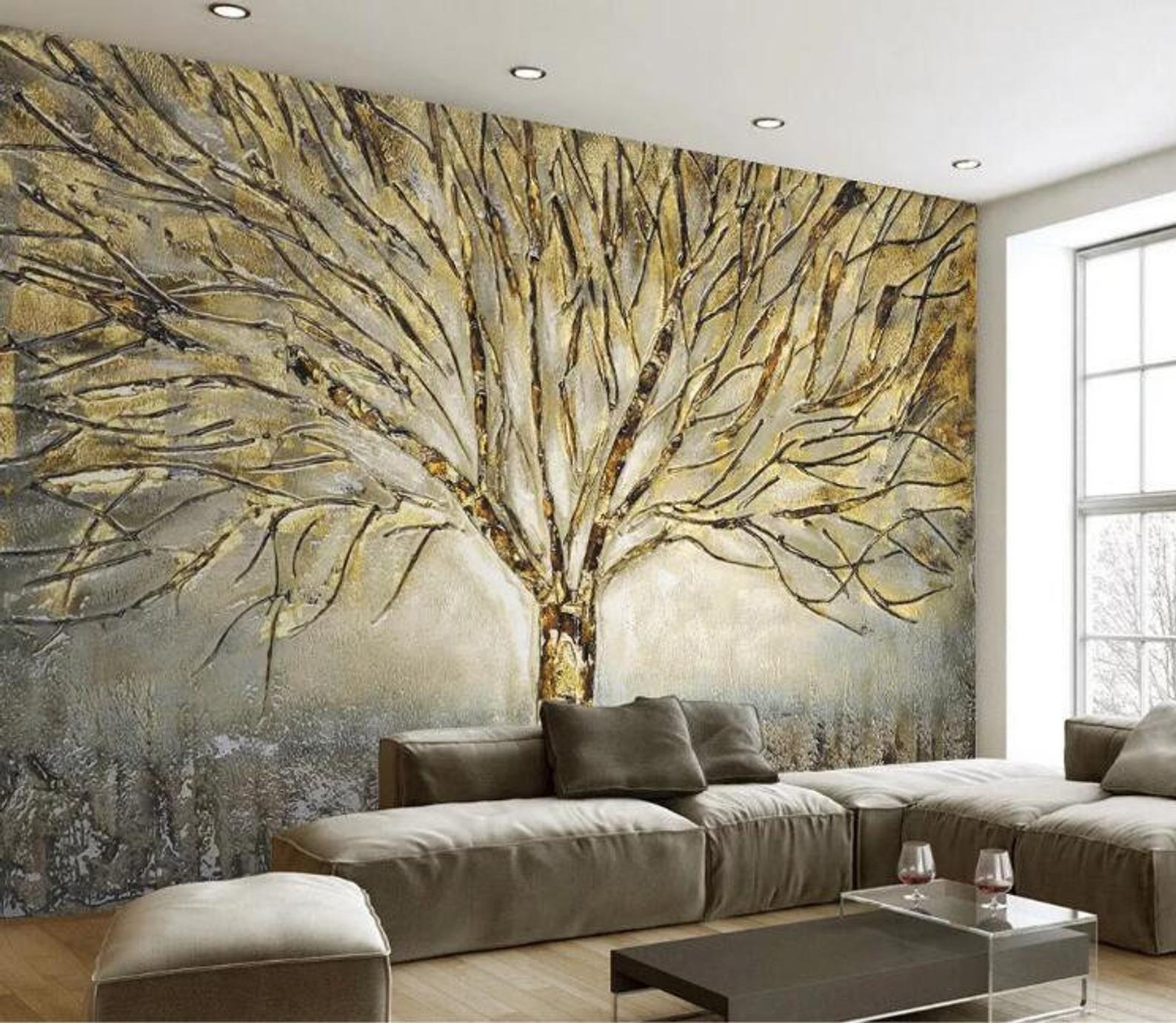 3D Fantasy Dark Tree GN840 Wallpaper Mural Decal M