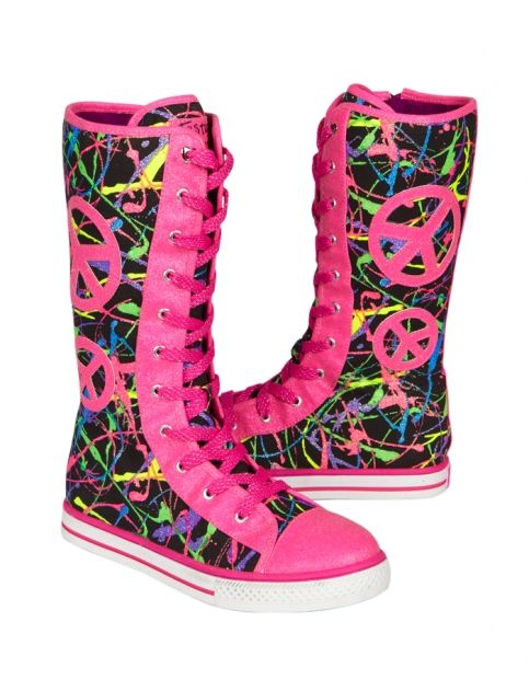 Paint Splatter Mid Calf Sneakers Girls Sneakers Shoes Shop Justice Girls Shoes Sneakers Girls Sneakers Justice Shoes