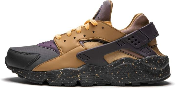 new concept e1ca0 d3e09 Nike Huarache Run PRM Anthracite Pro Purple