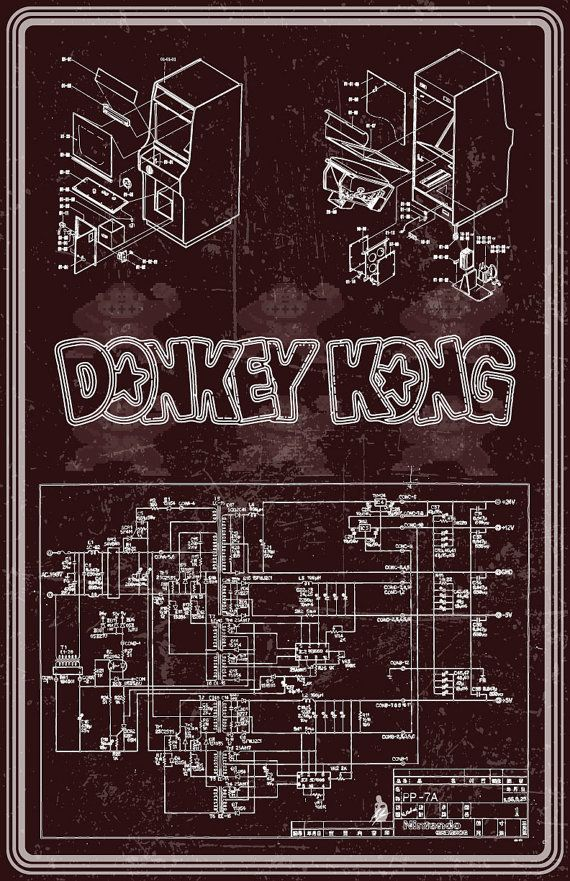 Cool Donkey Kong Arcade Machine Wiring Diagram Poster By Zolleycram On Wiring Cloud Nuvitbieswglorg