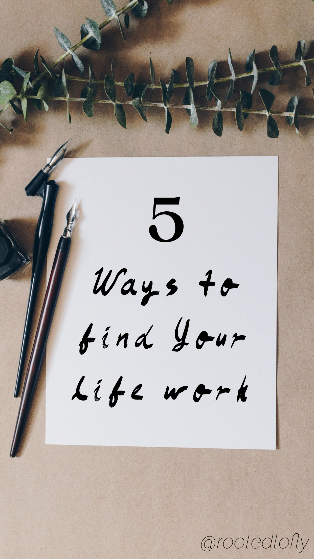 5 Ways To Find Your Life Work