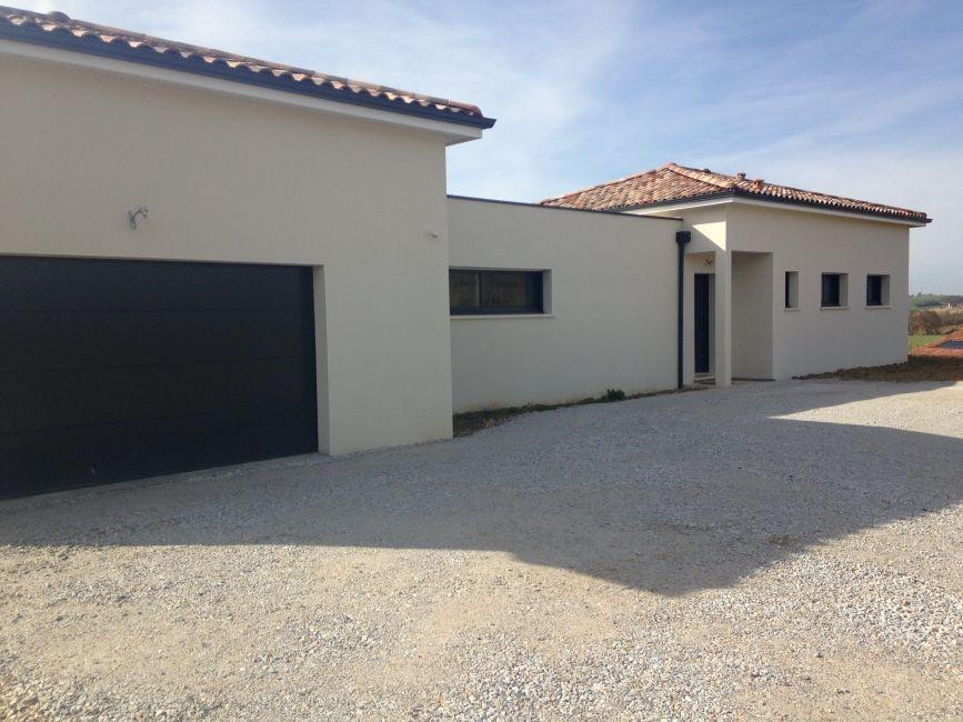 Plan #Maison de plain-pied avec garage - avis sur le constructeur