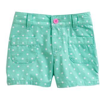 Carter's Dot Woven Shorts - Toddler