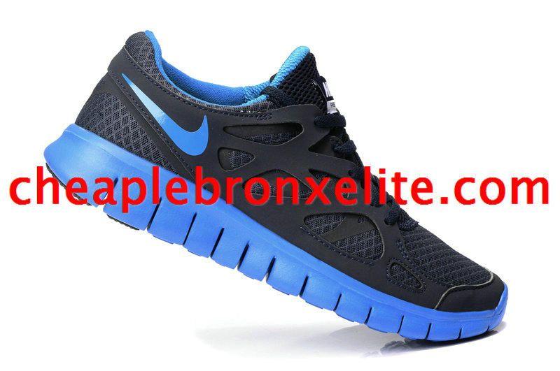 detailed look 45dcc 63db9 Black and Royal Blue Nike Free Run 2 Mens 540244 444 Louis Vuitton Schoenen,  Nike