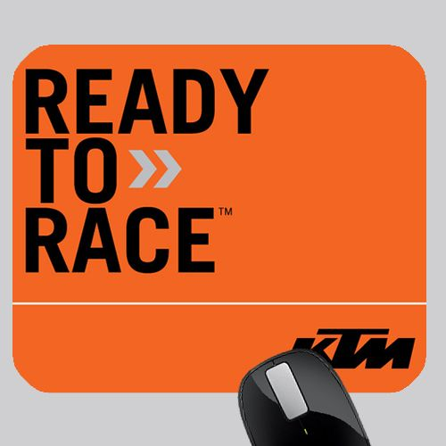 Awesome Ktm Ready To Race Photo Mouse Pad Mouse Pad Custom Mouse Pads Pad