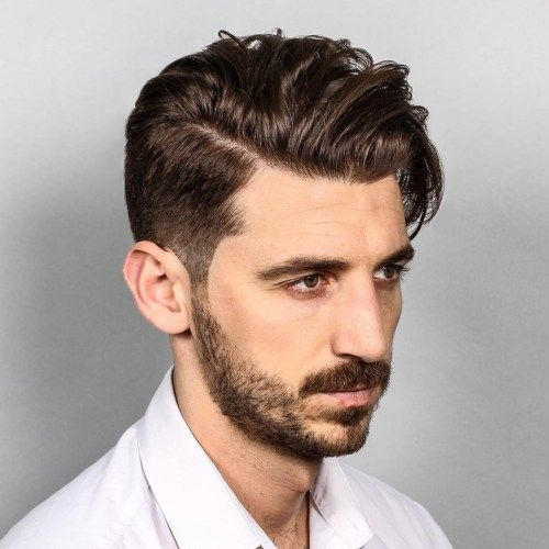 Comb Over Hairstyle New 10 Hairstyles Will Suit Men With Oval Faces  Suit Men