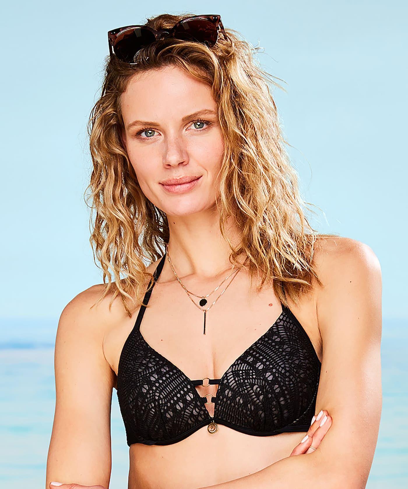 Voorgevormde beugel bikinitop Diamond Mesh Doutzen - Alle Bikinitops -  Badmode f84d79c2ee44e