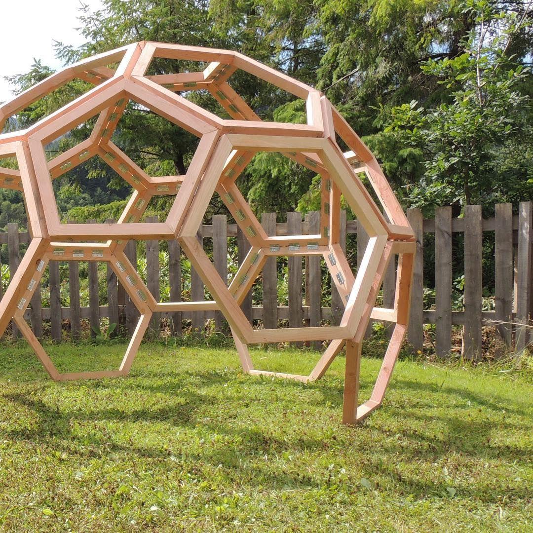 Geodesic Dome Template: Ideias Legais, Construção, Design