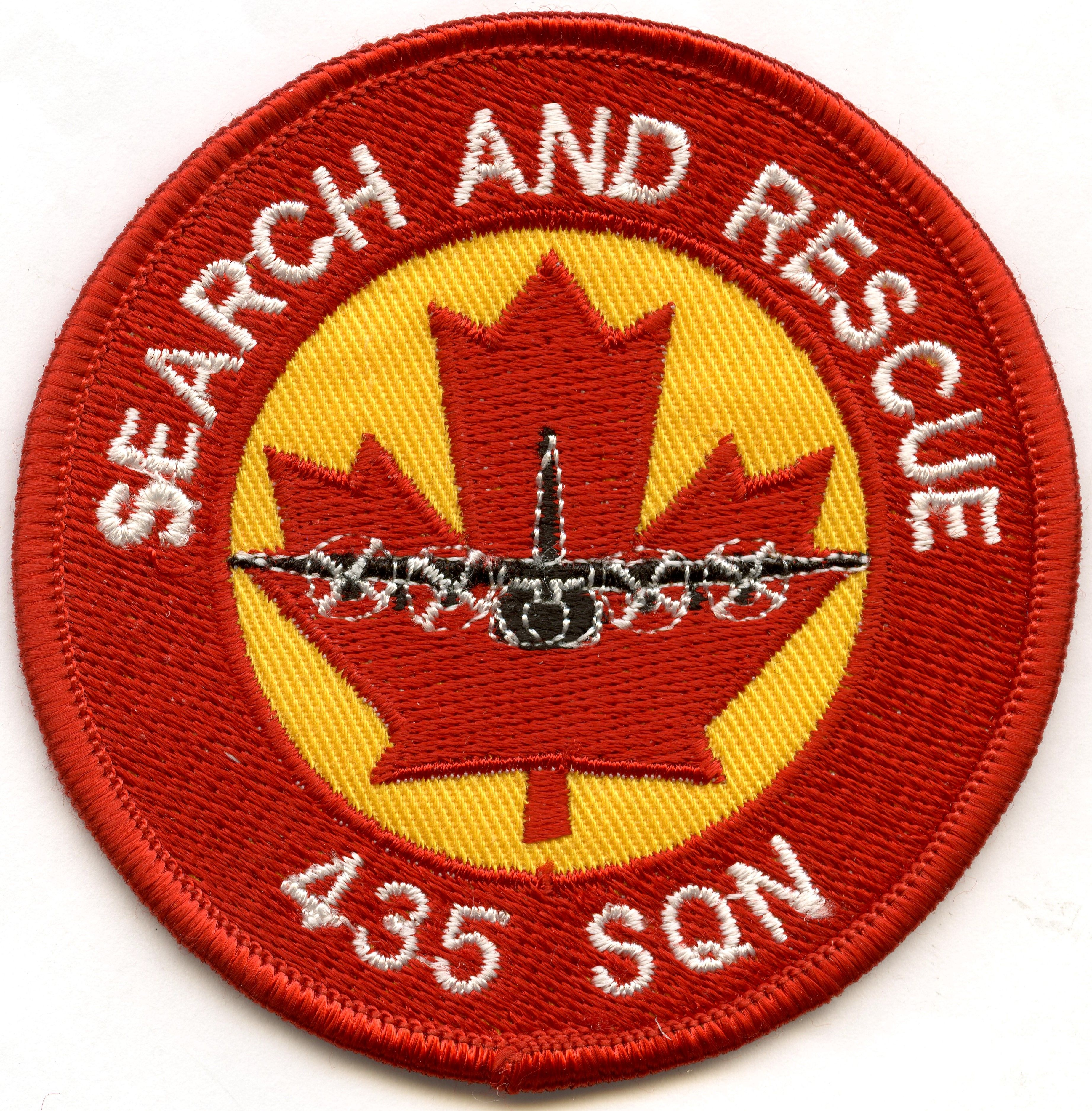 RCAF 435 Squadron Search and Rescue Patch Search and
