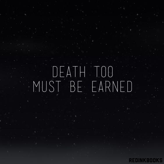 Must be earned.
