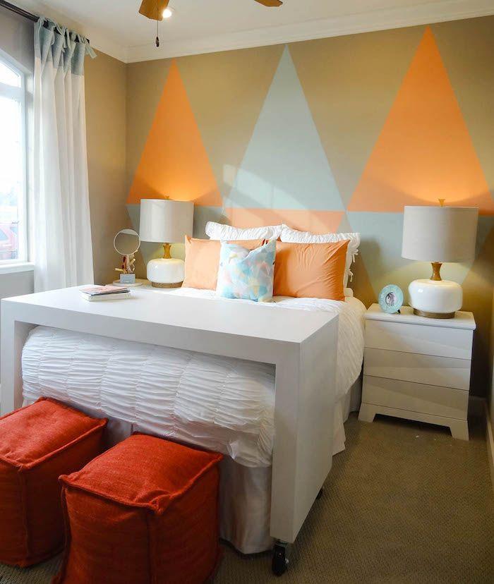 ▷ 1001 + Ideen und Bilder zum Thema Wand streichen Ideen Pinterest - ideen fr schlafzimmer streichen