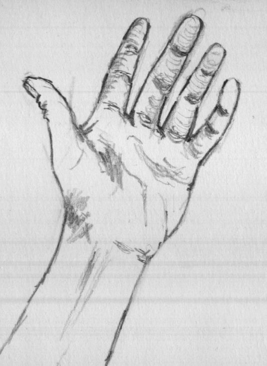 Pencil quotes pinterest hand sketch drawing ideas for Basic sketches for beginners