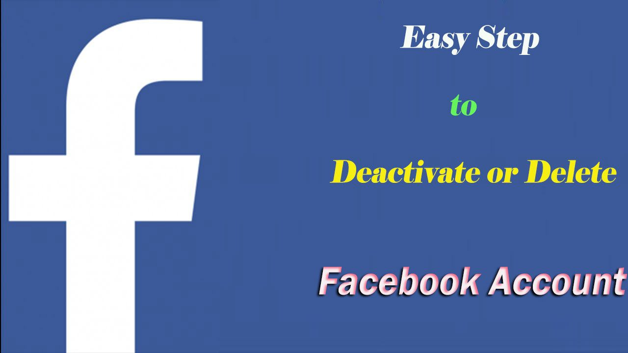 Trouble with facebook account - If You Are Having Any Trouble To Delete Or Deactivate Facebook Account You Can Avail