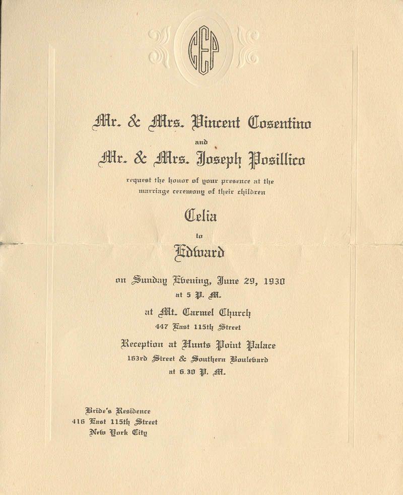 History of Domestic Science u2013 Bridal Secrets Weddings, Vintage - fresh formal invitation to judges
