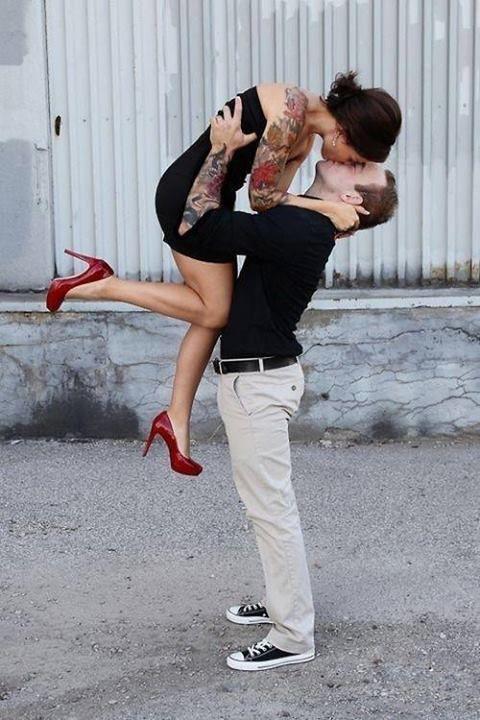 Les Plus Beaux Tangos Pour Danser : beaux, tangos, danser, Tattoos, Semaine, 14/02/15, Photo, Tatouage,, Couples, Tatoués,, Tatouages, Couple, Marié