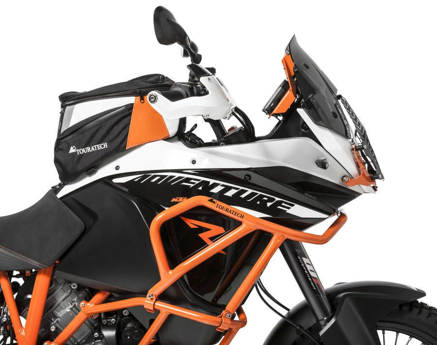 like a roll-cage for your motorcycle, the touratech upper crash