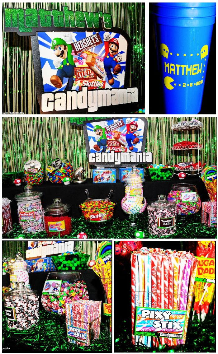 candy games for birthday party