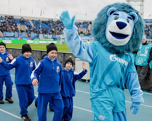 Pin Na Doske Mascots Football Russia