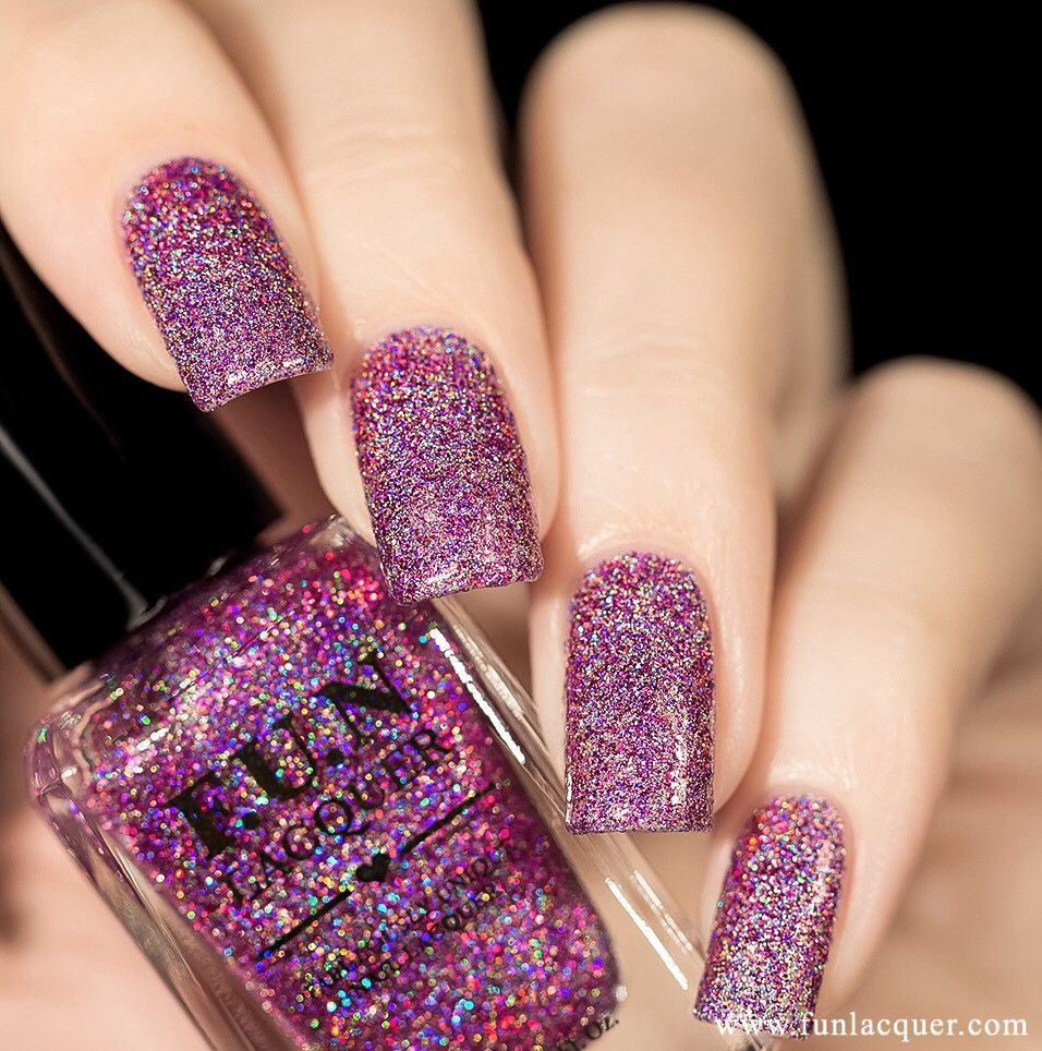 F.U.N Lacquer - Holo Queen Holo | Holographic nail polish ...