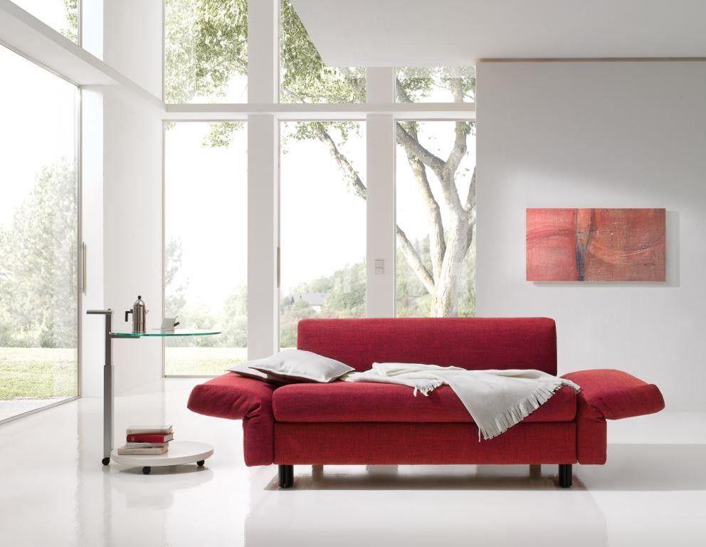 Das Malou Fungiert Entweder Als Sofa Recamiere Oder Doppelbett