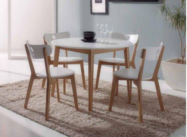 Mesa redonda con sillas   Mesas de comedor en 2019   Pinterest ...