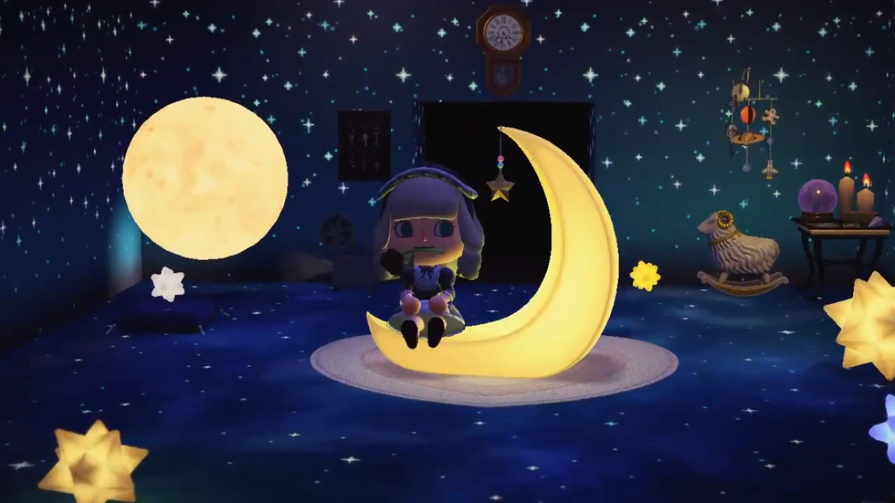 Space Themed Room Video Space Themed Room Animal Crossing 3ds Animal Crossing