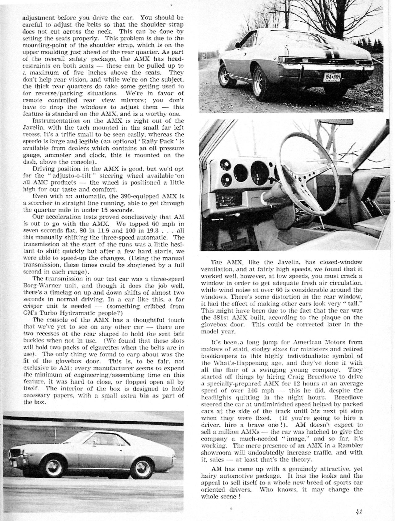 The American Motors AMX: The Two-Seat Muscle Car | Performance cars ...
