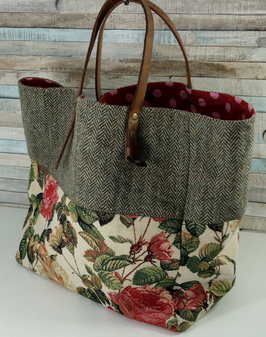 rosen sac handgemachte taschen neue ideen pinterest taschen n hen n hen und beutel. Black Bedroom Furniture Sets. Home Design Ideas