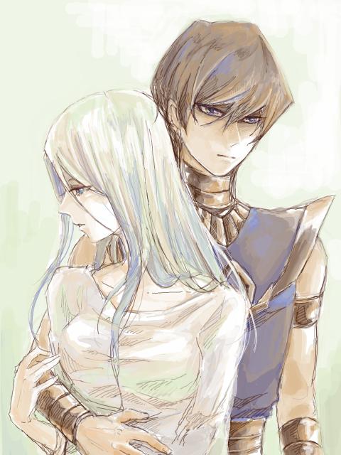 Kaiba and kisara