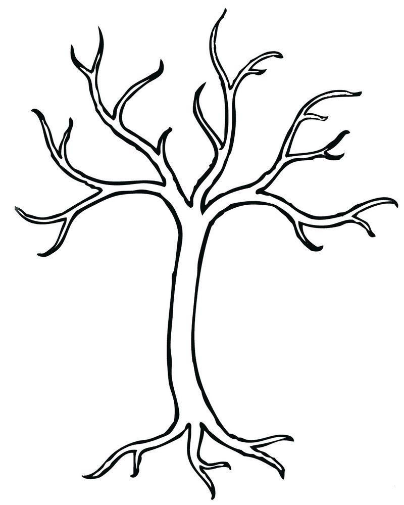 Bare Tree Coloring Page Preschool Tree Coloring Page Leaf Coloring Page Coloring Pages