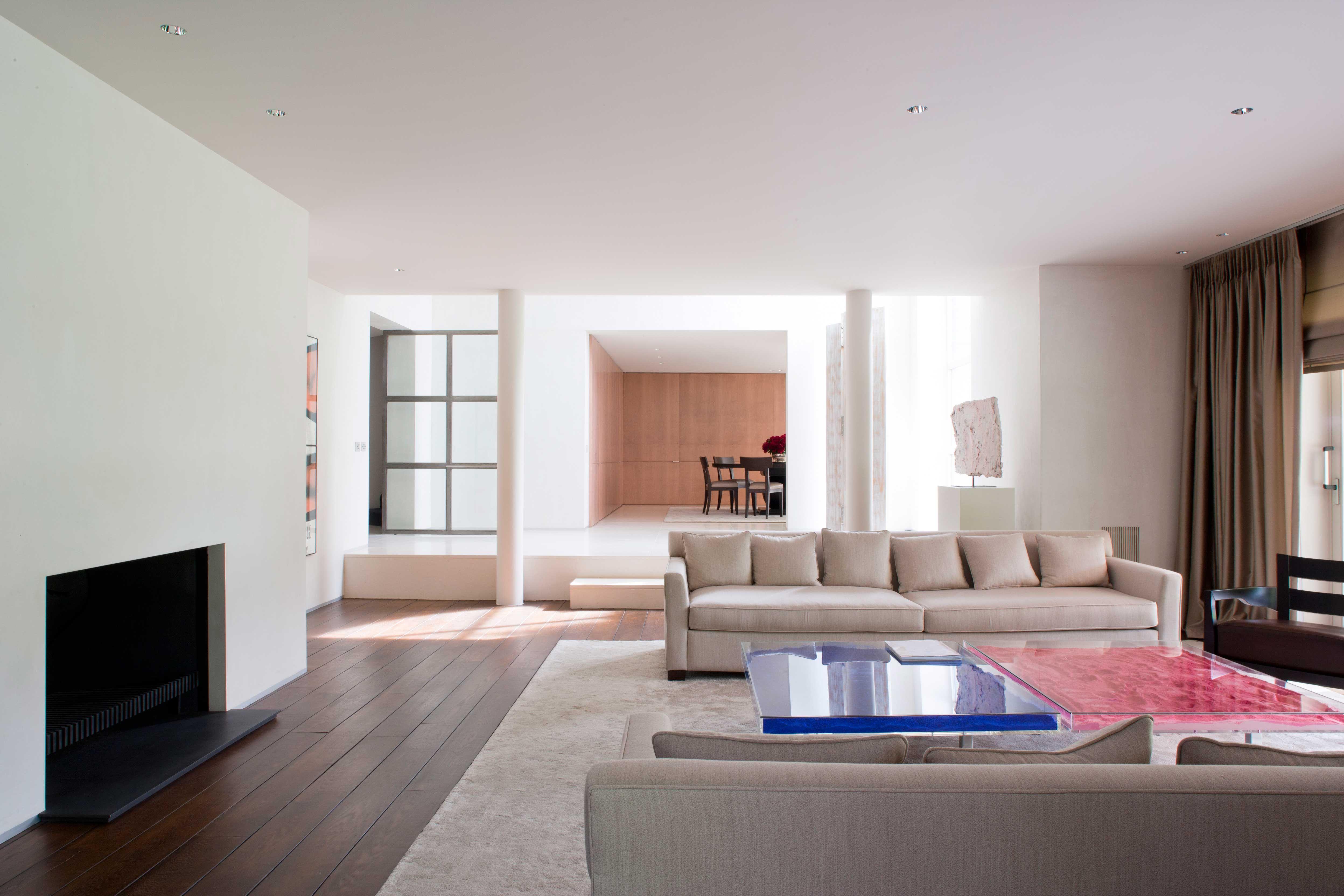 Obumex interior living room spacious design furniture