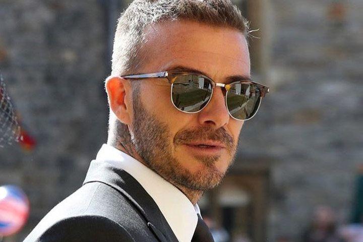 d34111f8fe David Beckham wears Saint Laurent SL 108  otticanet  eyewear  sunglasses   summer18