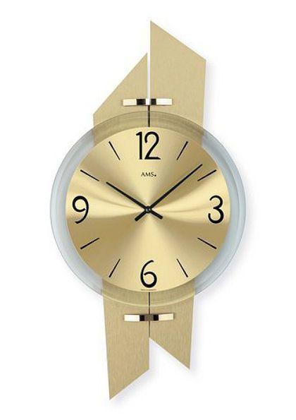 OTTO INTERIEUR: Dit is geen horloge maar een moderne wanklok.