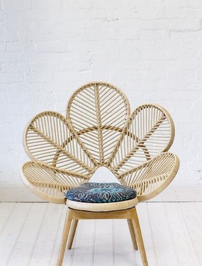 30 Awesome Daisy Rattan Chair Design That Easy To Make Chair Chairdesign Furniturechairs Love Chair Wicker Chair Rattan Furniture