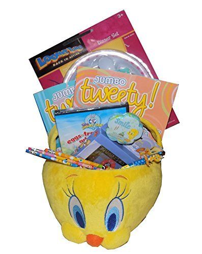 Ultimate looney tunes tweety bird easter gift basket for https easter gift baskets negle Choice Image